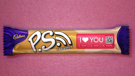 Cadbury's P.S. Bar – I Love You